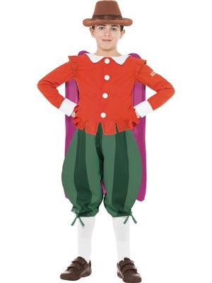 Boys Horrible Histories Guy Fawkes Costume