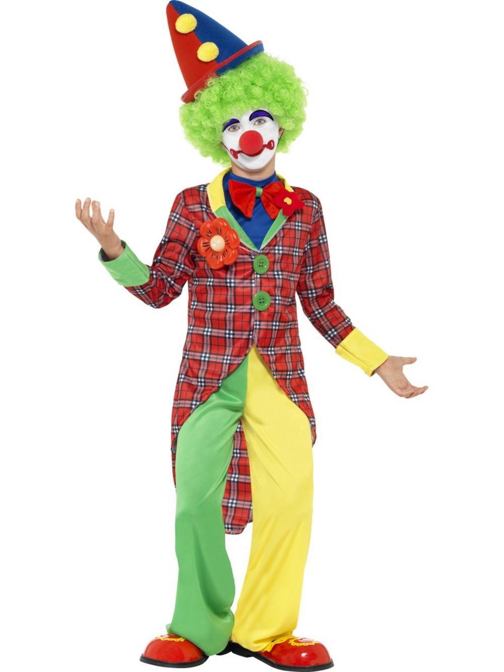 Костюм клоуна ребенку фото