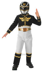 View Item Black Mega Force Power Ranger Costume