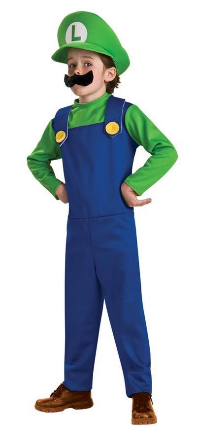 Kid's Super Luigi Costume