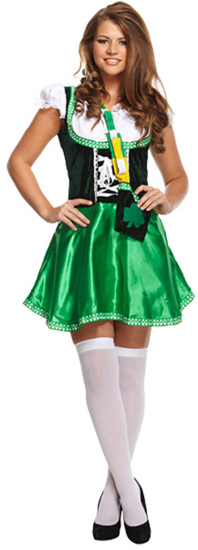 Sexy Irish Lady Costume