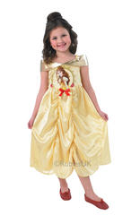 Girls Storytime Golden Belle Costume
