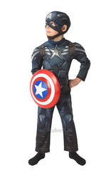 View Item Boys Deluxe Captain America Winter Soldier Costume