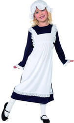 View Item Girl's Victorian Poor Girl Maid Costume