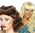 Ladies' Fancy Dress Wigs