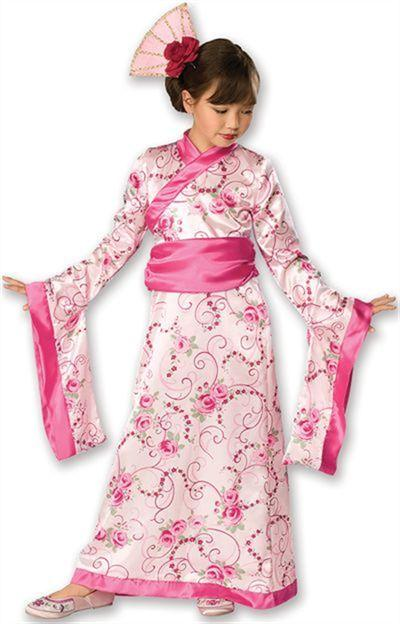 Asian Princess Geisha Costume