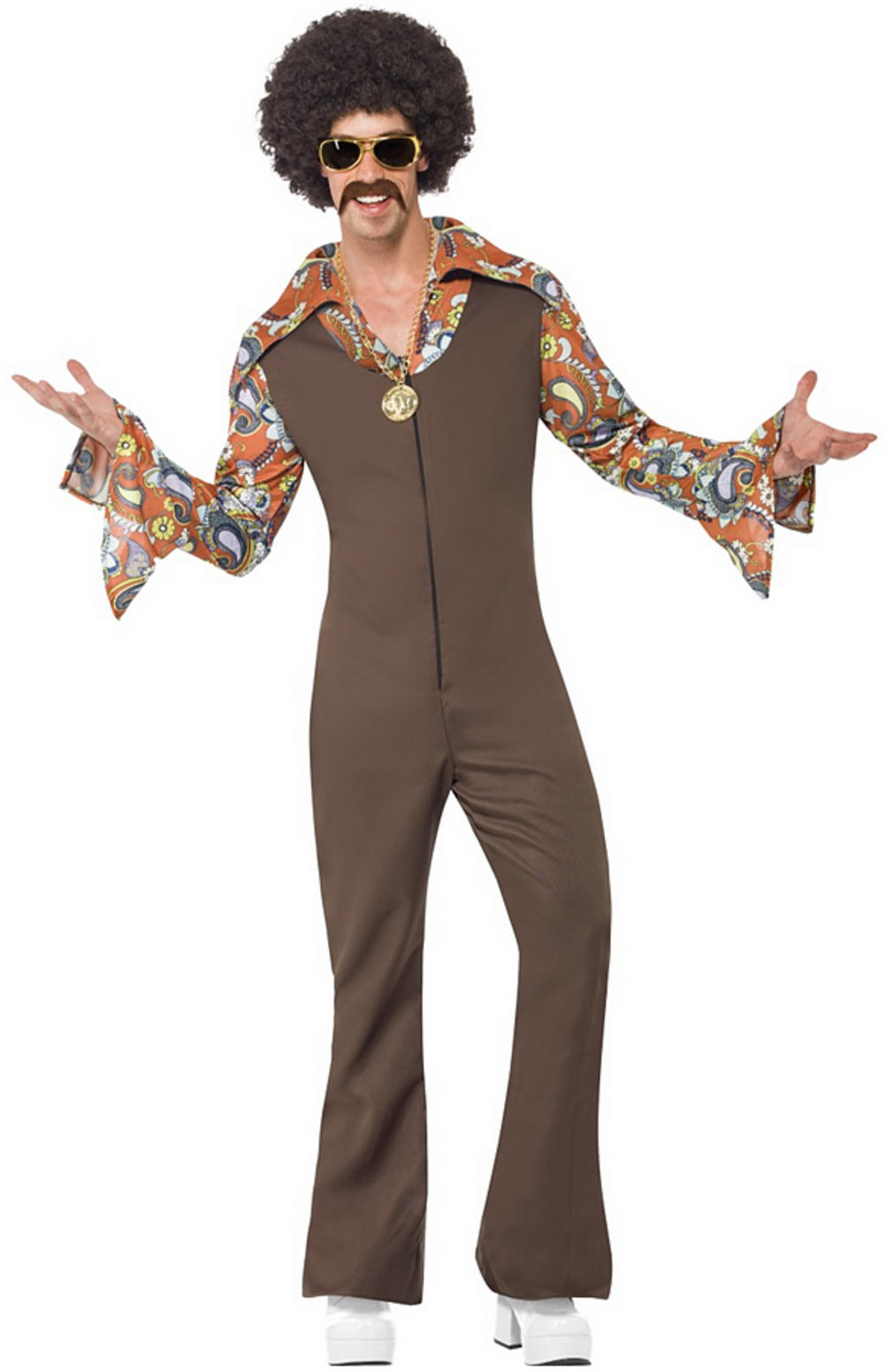 Mens Groovy Boogie Costume | 60s Costumes