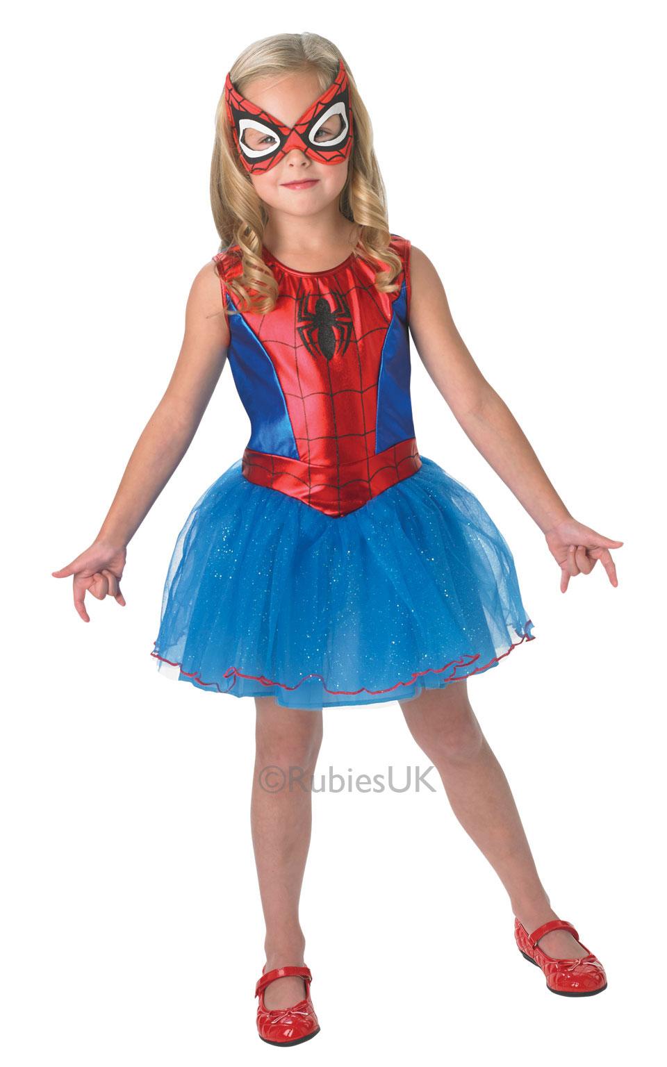 sentinel spider girl age 3 4 girls fancy dress superhero childs halloween kids costume - Spider Girl Halloween Costumes