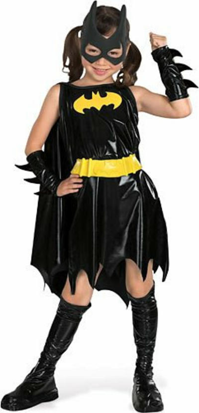 View Item Kids' Deluxe Batgirl Fancy Dress Costume