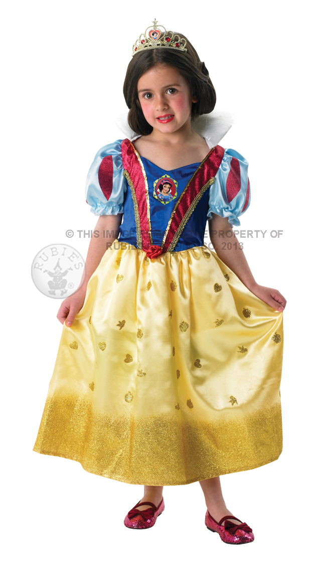 Glitter Snow White Costume