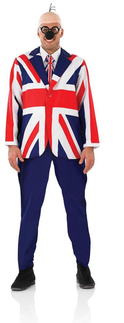 Mens Great Britsh Penfold Costume