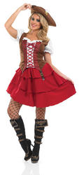 Deck Hand Pirate Girl Costume