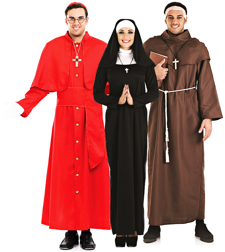 religious saint adults fancy dress holy church mens ladies costumes outfits new ebay. Black Bedroom Furniture Sets. Home Design Ideas