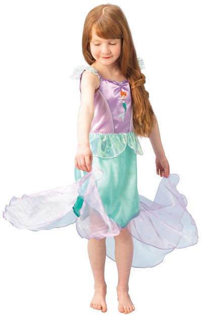 View Item Girl's Disney Classic Little Mermaid Ariel Costume