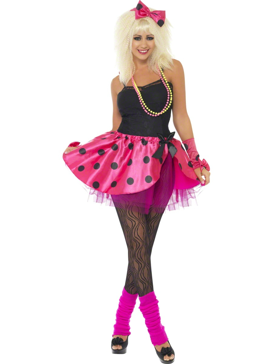 1980s Celebrity Ladies Fancy Dress Pop Star Retro 80s ...