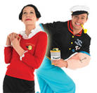 Popeye Fancy Dress Costumes