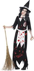 View Item Zombie Authentic Salem Witch Costume