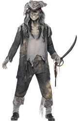 Ghost Ship Ghoul Fancy Dress Costume