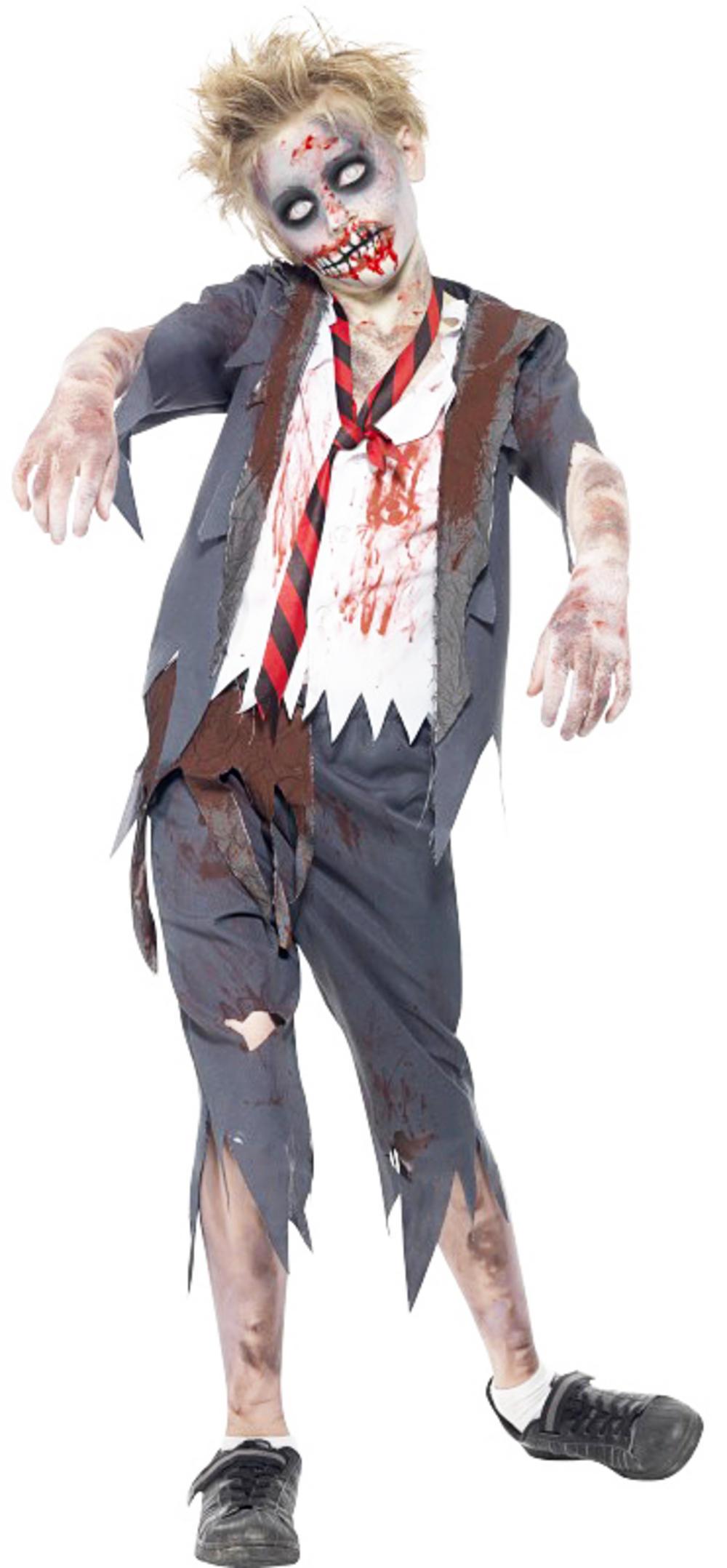 zombie school boy costume all halloween mega fancy dress