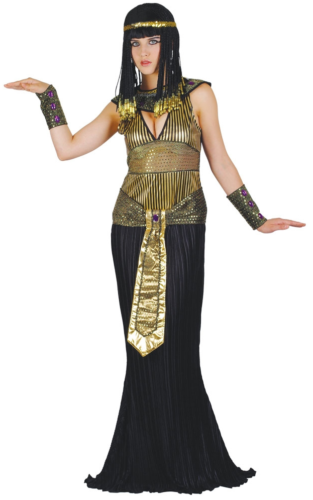 Classy Adult Women's CLEOPATRA Egyptian Queen Dress Costume Outfit Halloween M-L Egyptian / Greek / Roman Queen of the Nile Gender: Ladies / Women's Excellent Condition! NO Smoke, NO Pets, NO Smells T See all results. Browse Related. Egyptian Clothing. Cleopatra Dress. Greek Dress. Grecian Dress. Roman Dress.