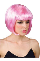 View Item 50s Pink Bobbed Wig