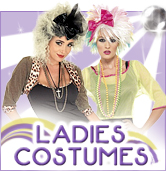 Ladies 80's Fancy Dress Costumes