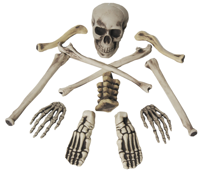 Bone bag halloween mega fancy dress for Bag of bones halloween decoration
