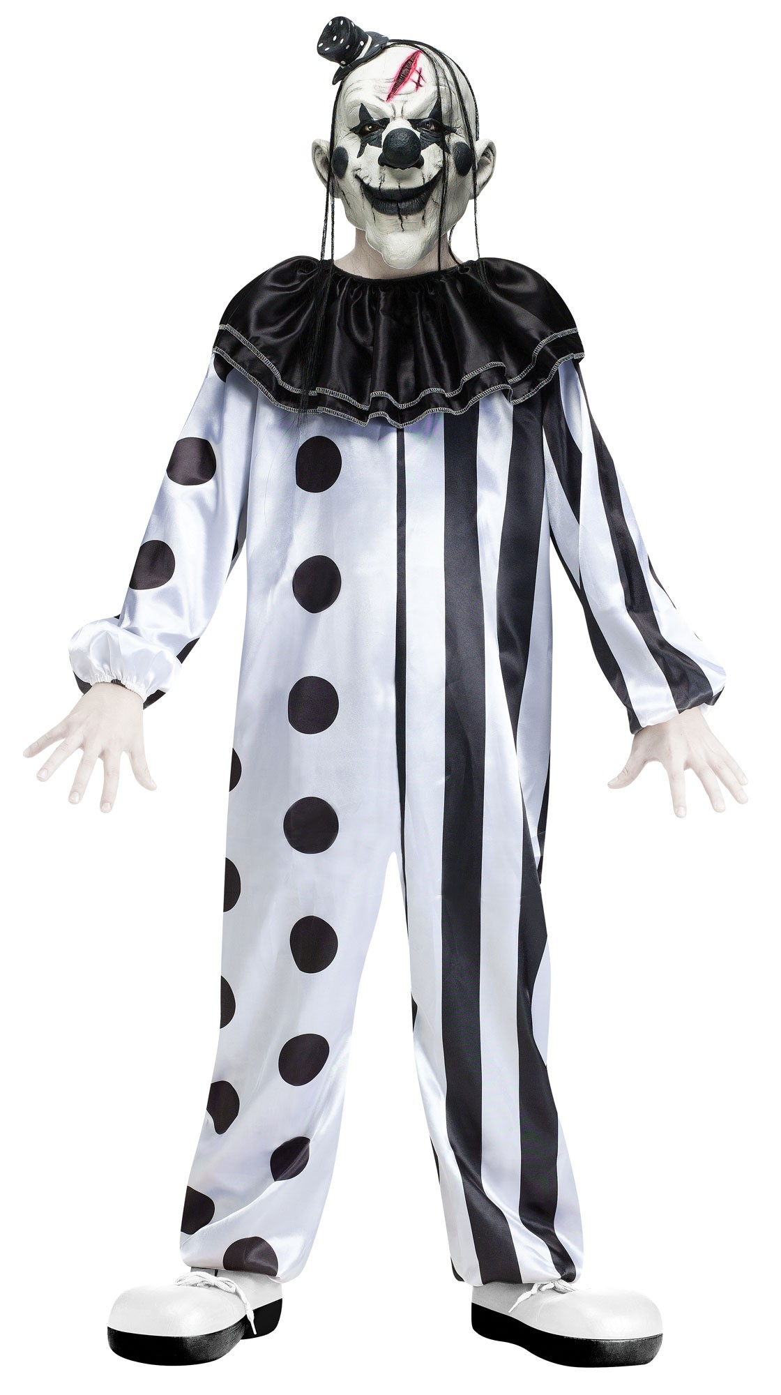 deluxe killer clown boys halloween fancy dress circus horror