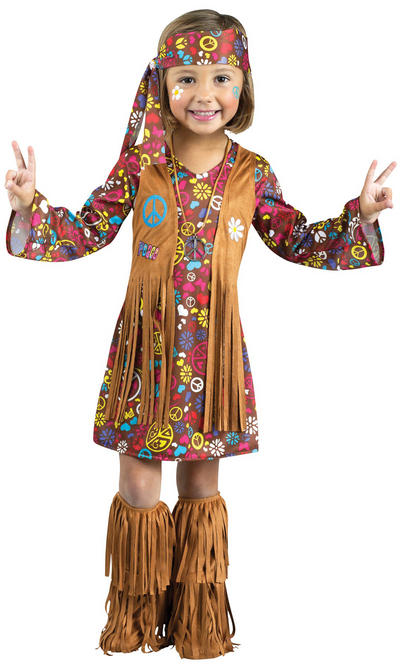 Peace & Love Hippie Costume
