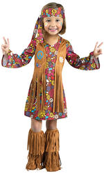 View Item Peace & Love Hippie Costume