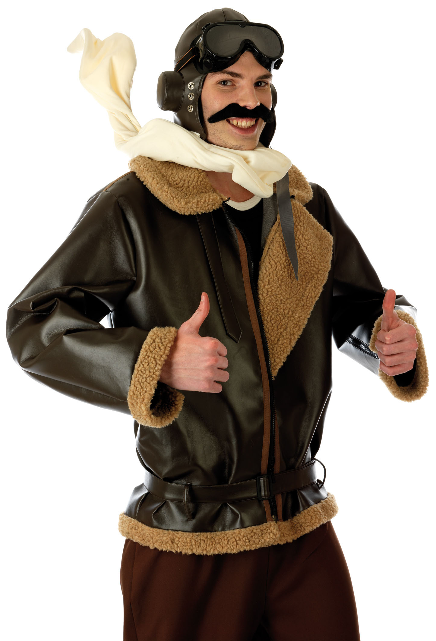 Old fashioned pilot costume Aviator Costume eBay
