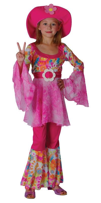 Girl's Hippie Flower Power Costume