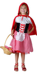 View Item Girl's Little Red Riding Hood Costume
