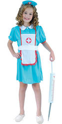 View Item Girl's Nurse Costume