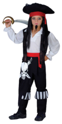 View Item Boys' Pirate Captain Blackheart Costume