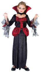 View Item Girl's Countess Vampira Costume