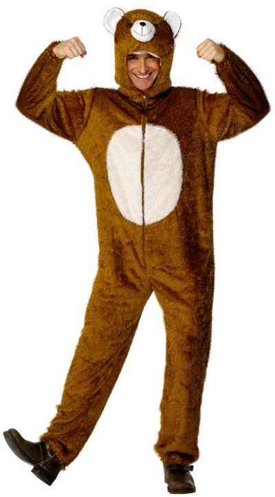 Adults Bear Fancy Dress Costume