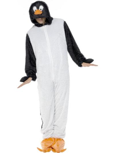 Adults Penguin Fancy Dress Costume