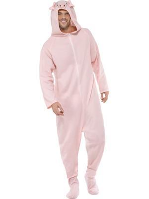 Adults Pig Fancy Dress Costume