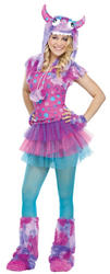 View Item Girls Polka Dot Monster Costume