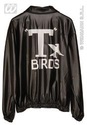 View Item Grease T Birds Leather Look Jacket