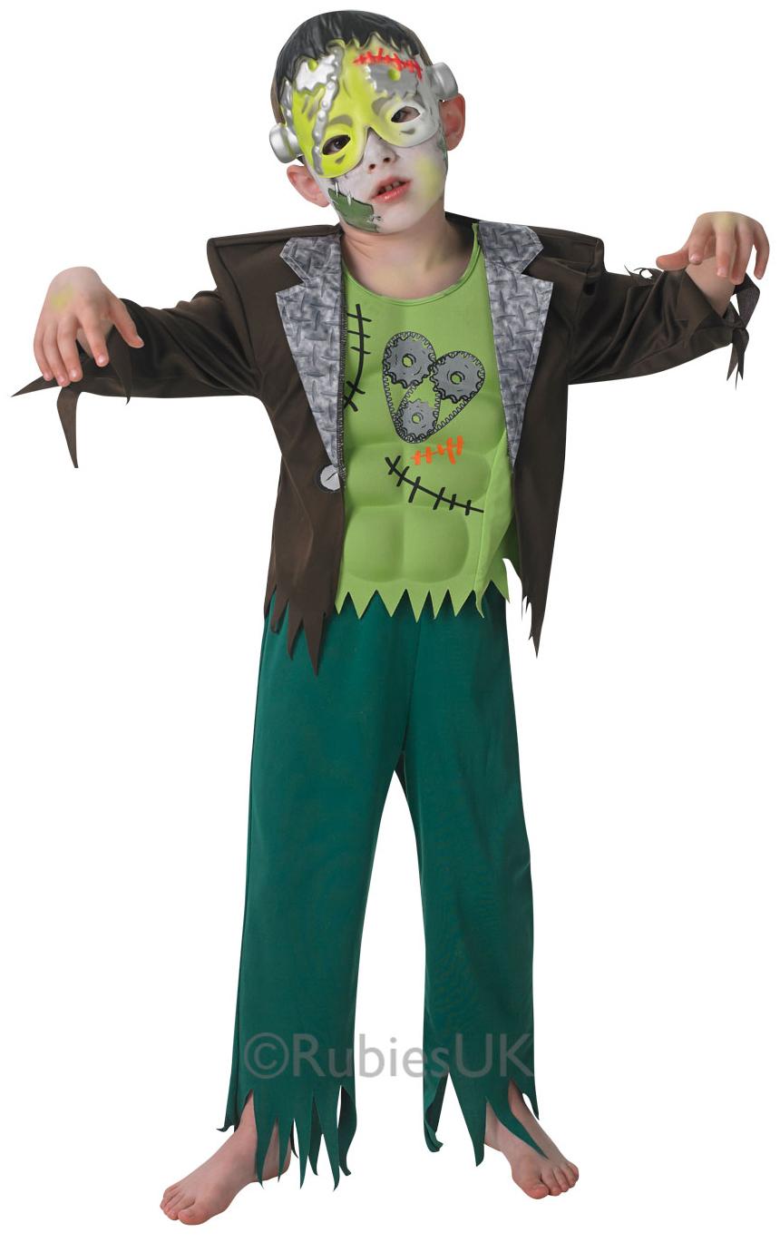jr boys fancy dress halloween frankie family monster kids costume