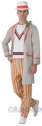 View Item Mens 5th Doctor Peter Davidson Costume