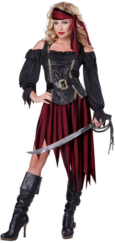 Queen Of The High Seas Pirate Costume