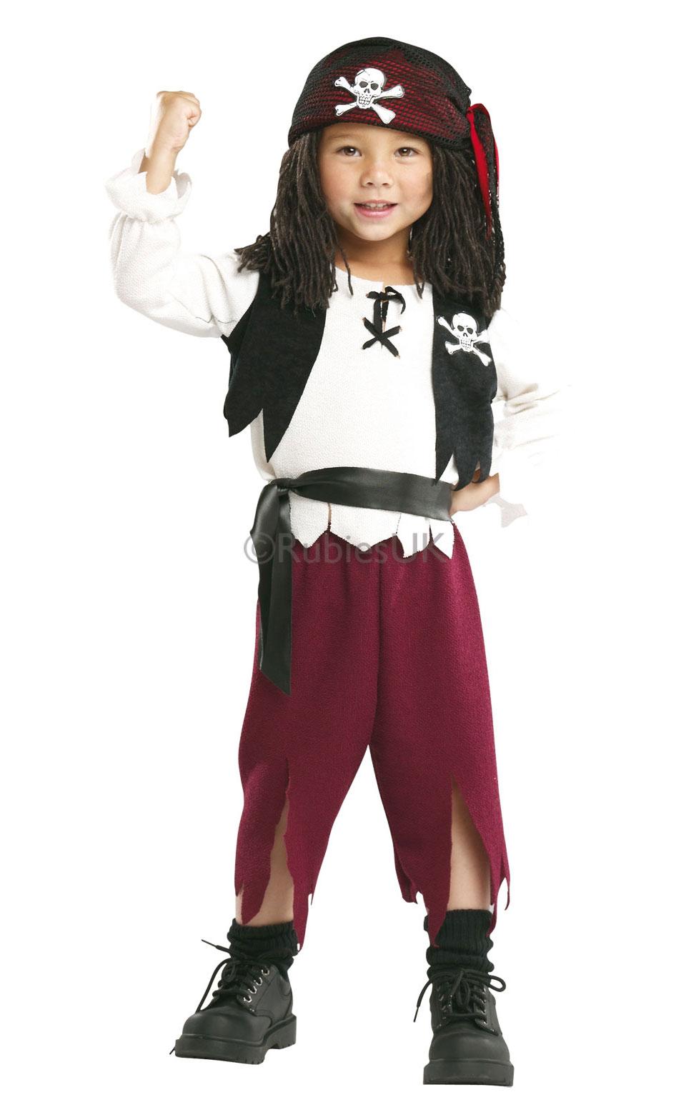 Childs Pirate Fancy Dress Kids Book Week Halloween Party Childrens ...