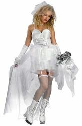 View Item Ladies' Pop Bride Fancy Dress Costume