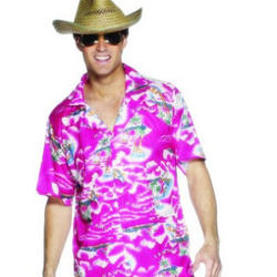 View Item Pink Hawaiian Shirt