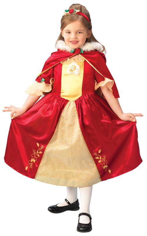 Disney princess belle red dress