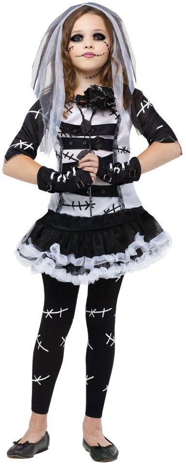 sentinel 2016 halloween girls fancy dress horror monster skeleton kids childrens costume - Halloween Costume Monster