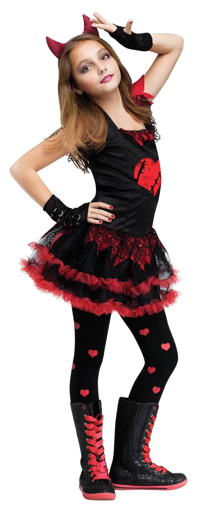 sentinel halloween girls fancy dress horror monster skeleton kids childrens costume